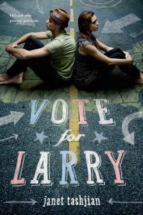 Vote for Larry book cover