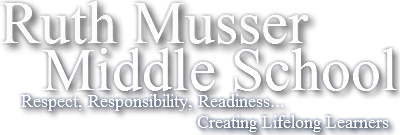 Ruth Musser Middle School  Logo