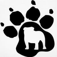 Bulldog Pawprint